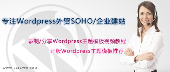 [已完成]WordPress快速建站之系列教程
