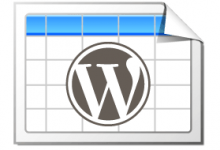 WordPress插入表格-TablePress插件推荐